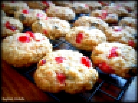 CHERRY / Chewy Oat Cherry Cookies