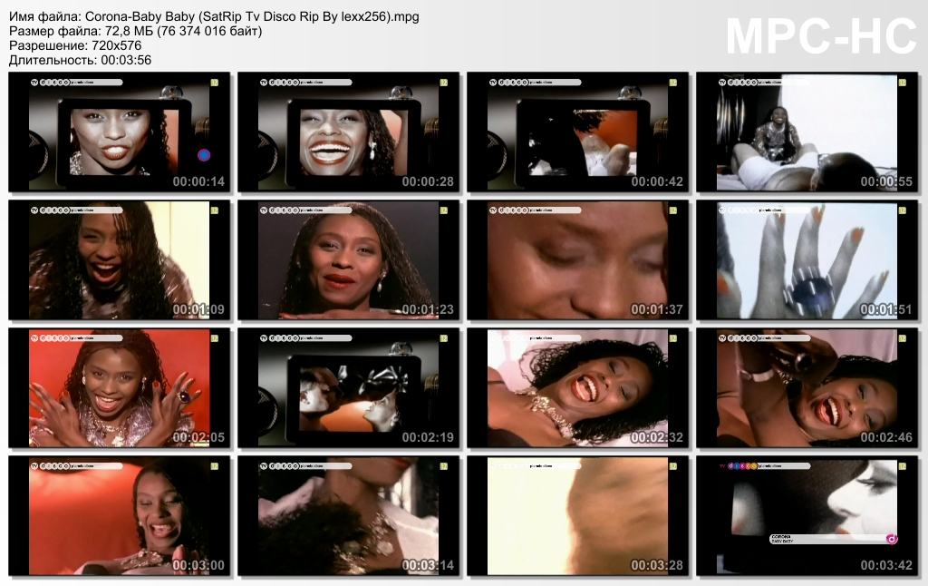 (the best hits of 90`s) Corona - Baby Baby [Lee Marrow Radio Mix]